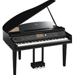 Yamaha CVP709GP PE Pianoforte Digitale Nero Lucido