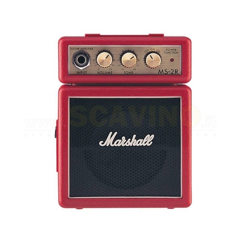 Marshall MS 2R Micro Amp (Red)