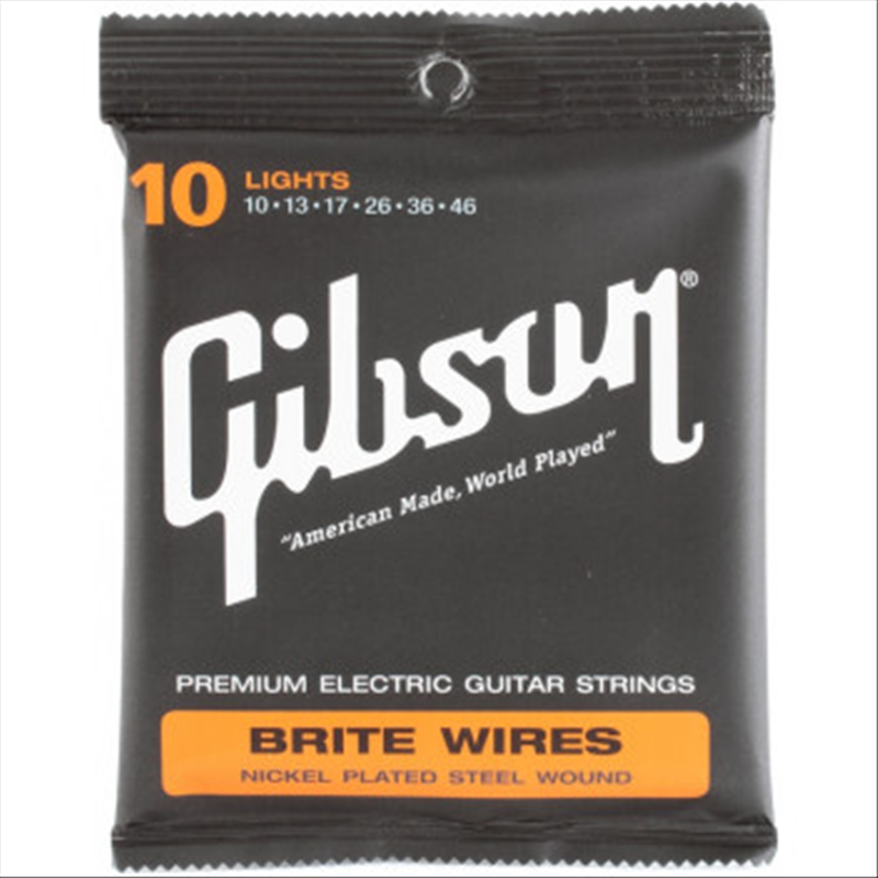 Gibson SEG 700L Brite Wires Electric Guitar Strings .010 - 46