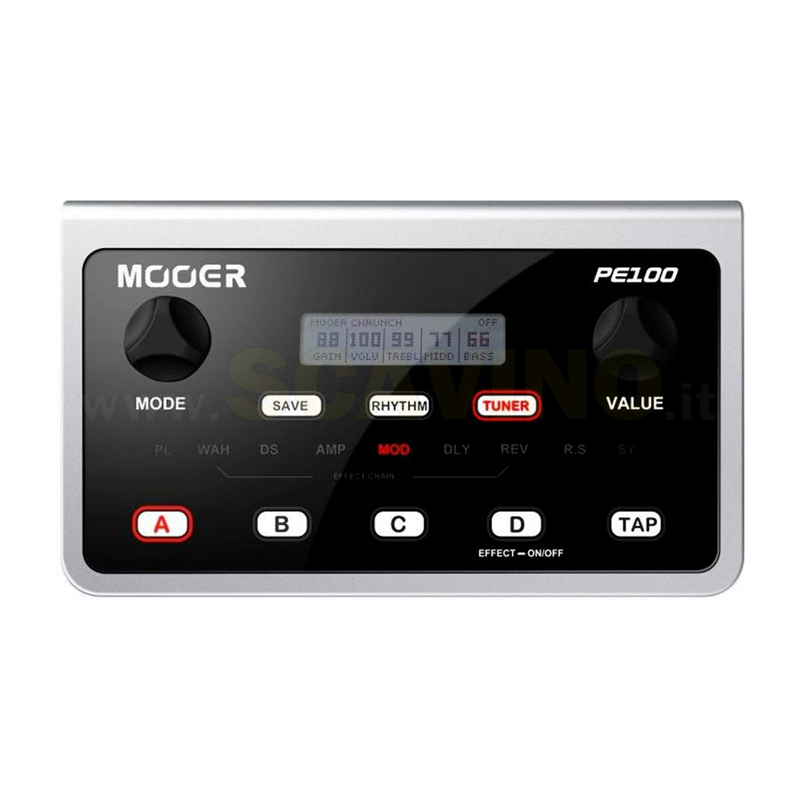 Mooer PE100 Effects Processor