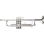 Vincent Bach VBS1S Tromba in Sib Argentata