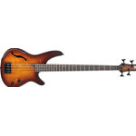 Ibanez SRH500-DEF Ibanez Bass Workshop Dragon Eye Burst Flat