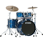 Tama PS42S-LOR - shell kit - finitura Lacquer Ocean Blue Ripple