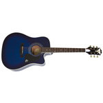 EPIPHONE Pro-1 Ultra Acoustic Blue Burst