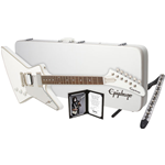 Epiphone Tommy Thayer White Lightning Explorer Outfit EDTHMWNH3