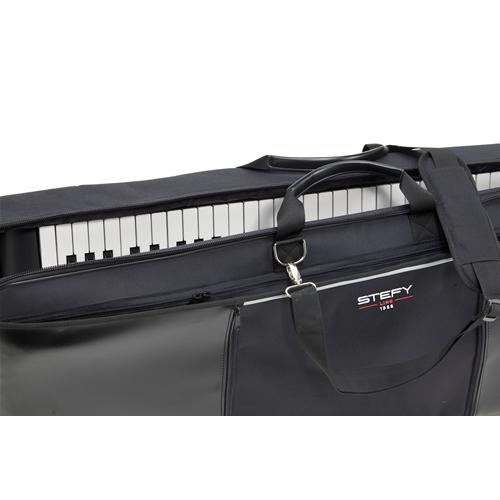 Stefy line kc132 borsa per tastiera 132 x 32 x 15 imbottitura 25mm custodia pianoforte borse - Tastiera del letto ...