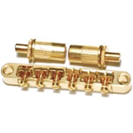 Parts Planet  LPB17 GD - Ponte fisso per chitarra elettrica tipo Les Paul Gibson - Gold