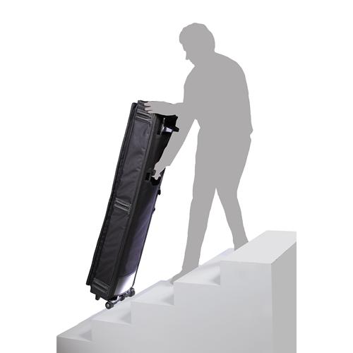 Stefy line kt135 borsa per tastiera con ruote 135 x 32 x 15 imbottitura 20mm borse per - Tastiera del letto ...