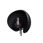 Aston Microphone Halo Shadow Filtro Anti Riflesso per Microfono Nero