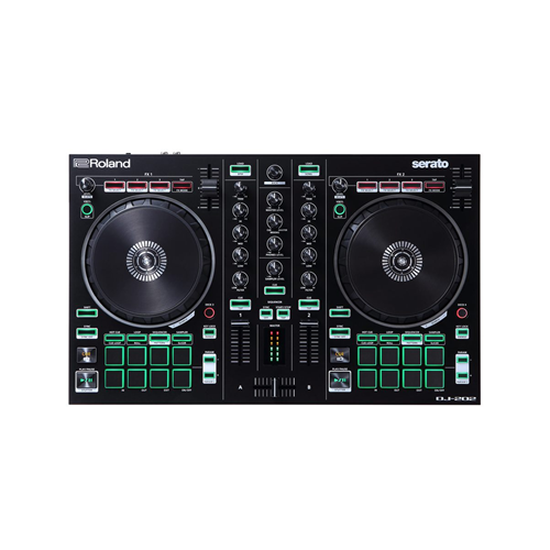 Roland DJ202 Controller 2 Canali