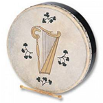 Halifax 2555A Bodhran Harp cm.40x9 with bag