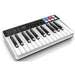 IK Multimedia iRig Keys I/O 25 - Master keyboard a 25 tasti per sistemi PC, MAC. iPad, iPhone con interfaccia audio integrata