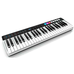 IK Multimedia iRig Keys I/O 49 - Master keyboard a 25 tasti per sistemi PC, MAC. iPad, iPhone con interfaccia audio integrata