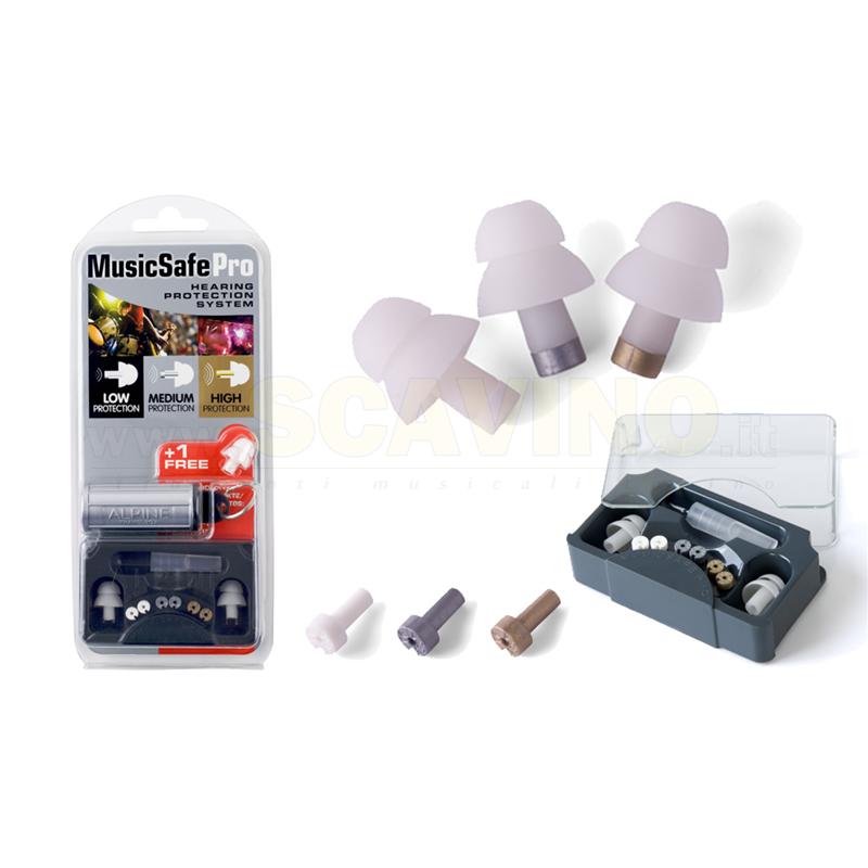 Alpine music safe pro black edition protezione per udito tappi orecchie tappi acustici per musicisti for Tappi per orecchie per musicisti