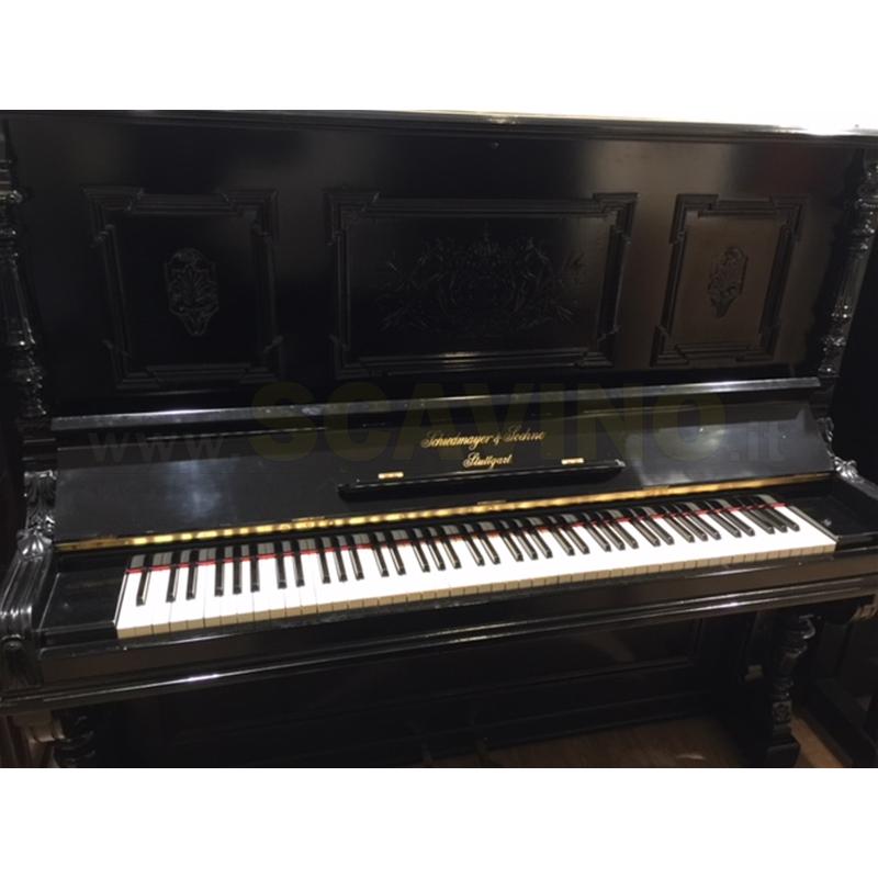 usato Schiedmayer & Soehne Pianoforte Verticale