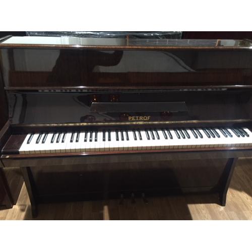 usato Petrof Pianoforte Verticale Pianoforti Usati