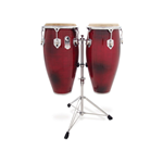 Dadi CFD2 Red Congas Paio con Stand Pro