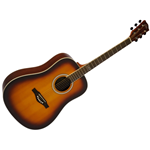 Eko TRI D Chitarra Acustica Honey Burst