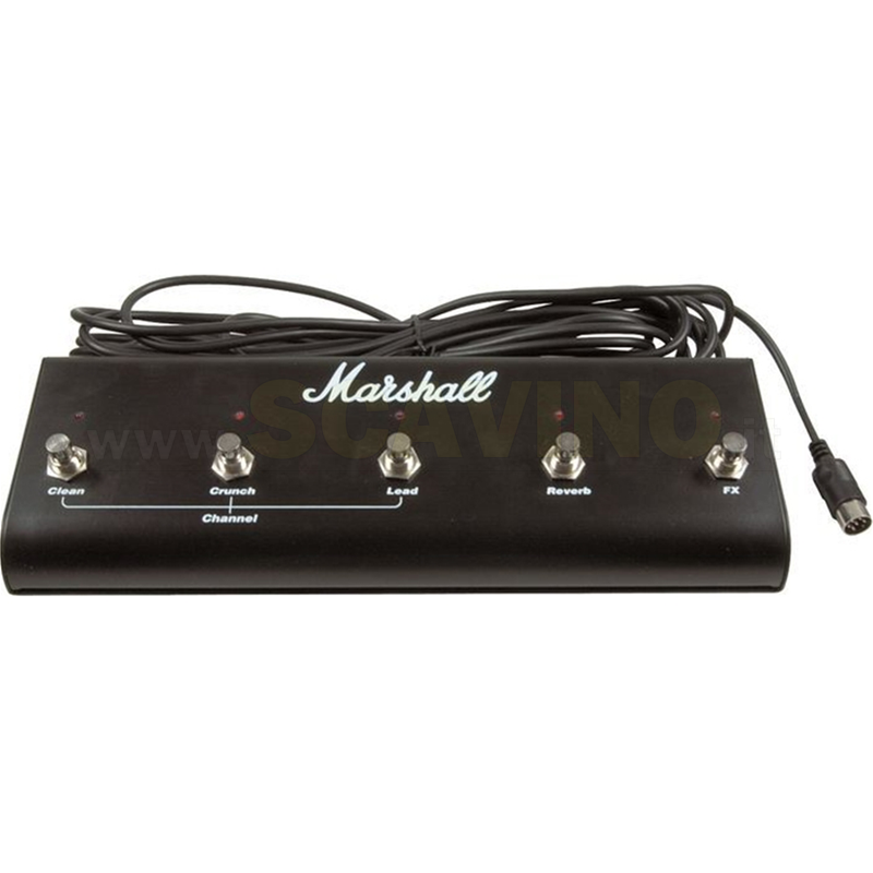 Marshall PEDL10021 JCM2000 TSL 5 way FootSwitch