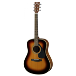 YAMAHA F370DWTBS ACOUSTIC GUITAR TOBACCO BROWN SUNBUR