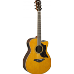YAMAHA AC1RIIVN ELECTRIC ACOUSTIC GUITAR VINTAGE NATURAL