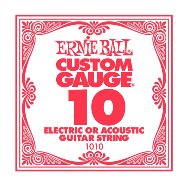 Ernie Ball EB 1010 Plain Steel 010