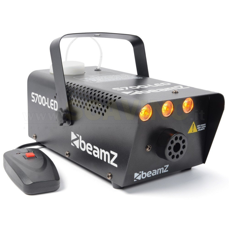 Beamz S700 LED Smokemachine Flame Effect
