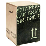 Schlagwerk CP 403 BLK - 2inOne Snare Cajon Black Edition - Medium