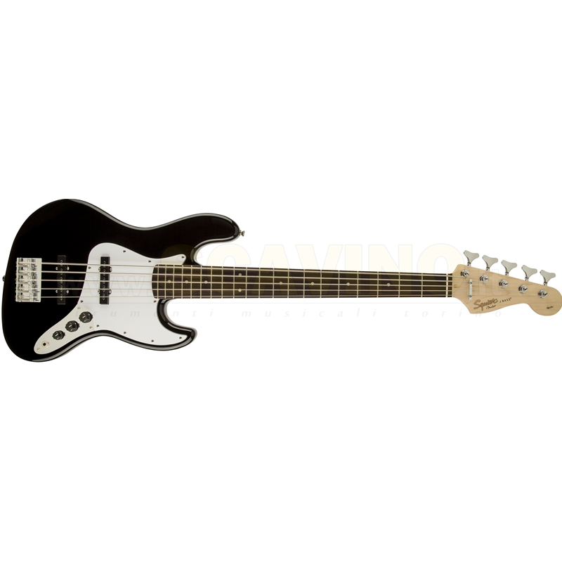 Fender Squier Affinity Jazz Bass® V (5-STRING) Black