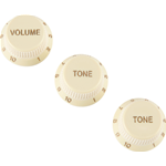 Fender Stratocaster® Soft Touch Knobs, Aged White