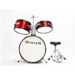 Oyster FLT JD3 Batteria Junior 3pz Rossa