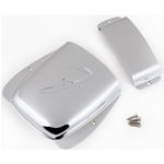 Fender Pure Vintage Jazz Bass® Ashtray Cover Set, Steel/Chrome