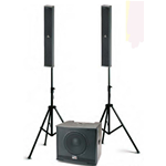 AudioDesign TRIO LA 6/10 Sistema audio Sub+ 2 SAT 500W RMS