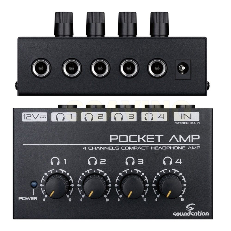 Soundsation POCKET-AMP preamplificatore per cuffia