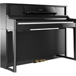 Roland LX705 PE Polished Ebony Pianoforte digitale nero lucido
