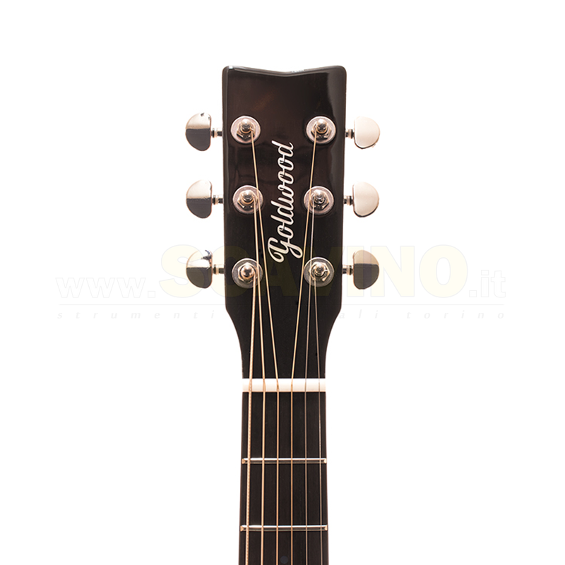 Goldwood Grand auditorium cutaway Eq Sunburst  GW-CS-GACE-SG