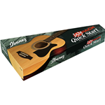 Ibanez VC50NJP NT kit completo di chitarra acustica ed accessori finitura Natural High Gloss