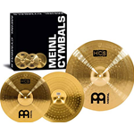 "Meinl set 18"" crash/ride + 14"" hi hat"