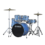 "Yamaha Gigmaker 20"" GM0F5 Blue Ice Glitter Batterie Acustica"