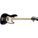 Fender Squier Contemporary Active Jazz Bass® V HH, Maple Fingerboard, Black