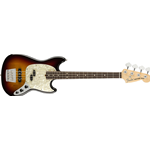 Fender American Performer Mustang Bass, Rosewood Fingerboard, 3-Color Sunburst 0198620300