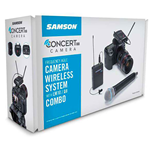 Samson CONCERT 88 UHF Camera Combo System - F (606-630 MHz)