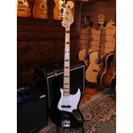 usato Fender Geddy Lee Jazz Bass MN Black con Custodia