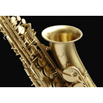 Cigalini SMART™ Sax Alto in Mib Brushed Brass