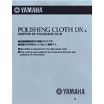 YAMAHA MMPCLOTHDXL03 Polishing Cloth DX L panno per la pulizia strumenti a fiato MAINTENANCE MATERIAL PLOSH CLOTH DX L03