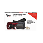 Fender Squier Affinity Series™ Stratocaster® HSS Pack, Candy Apple Red, Gig Bag, 15G