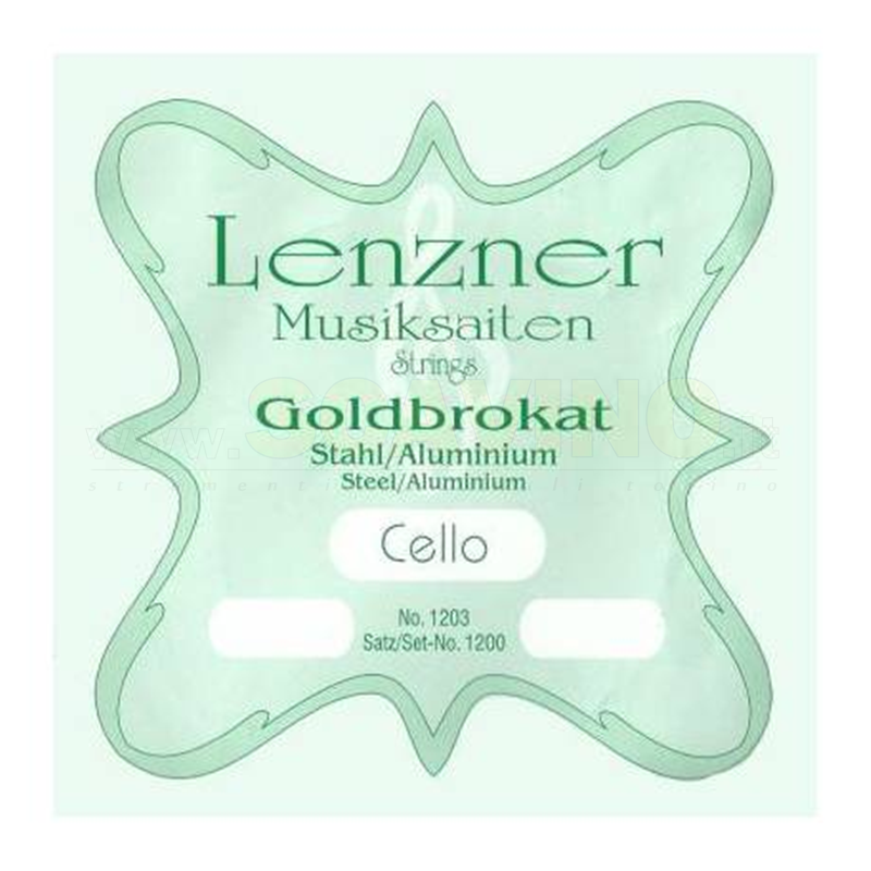 Lenzner 1200 Set corde Violoncello Optima Goldbrokat