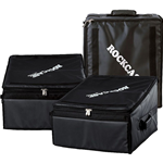 Rockgear RC 23810 B Soft Light Case per Mixer 3 unità, 49,5x27x35cm