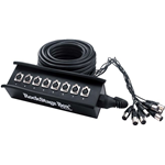 Rockgear RCL 30940 Stage Box 24 in 4 out, 50 metri