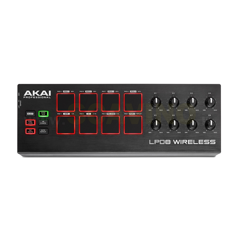 Akai LPD8 Wireless Controller MIDI USB a pad bluetooth